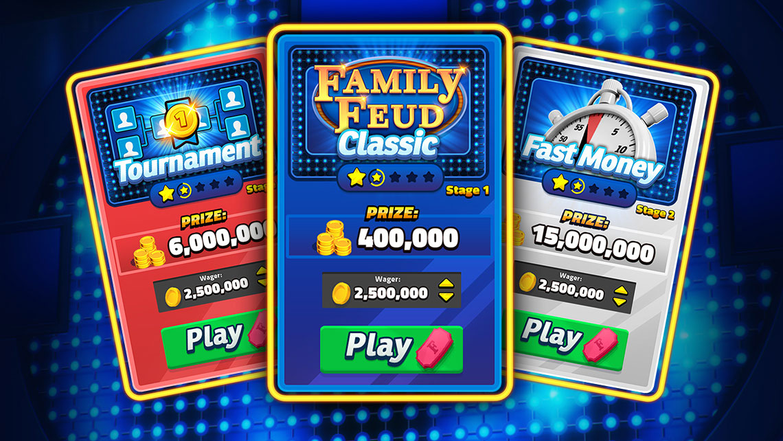 It's time to play… Family Feud Live! Discover how our mobile