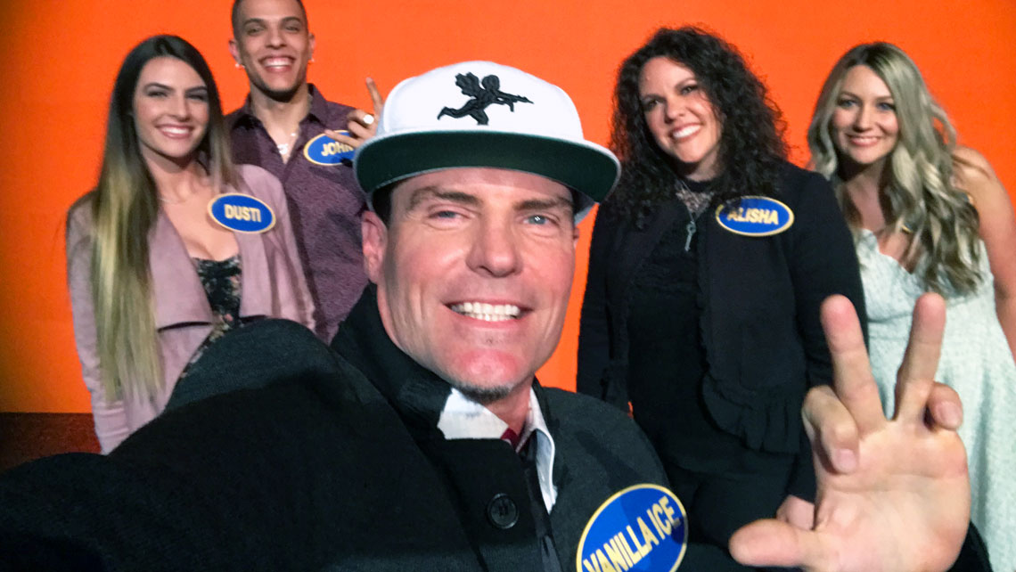 Vanilla Ice on Celebrity Family Feud