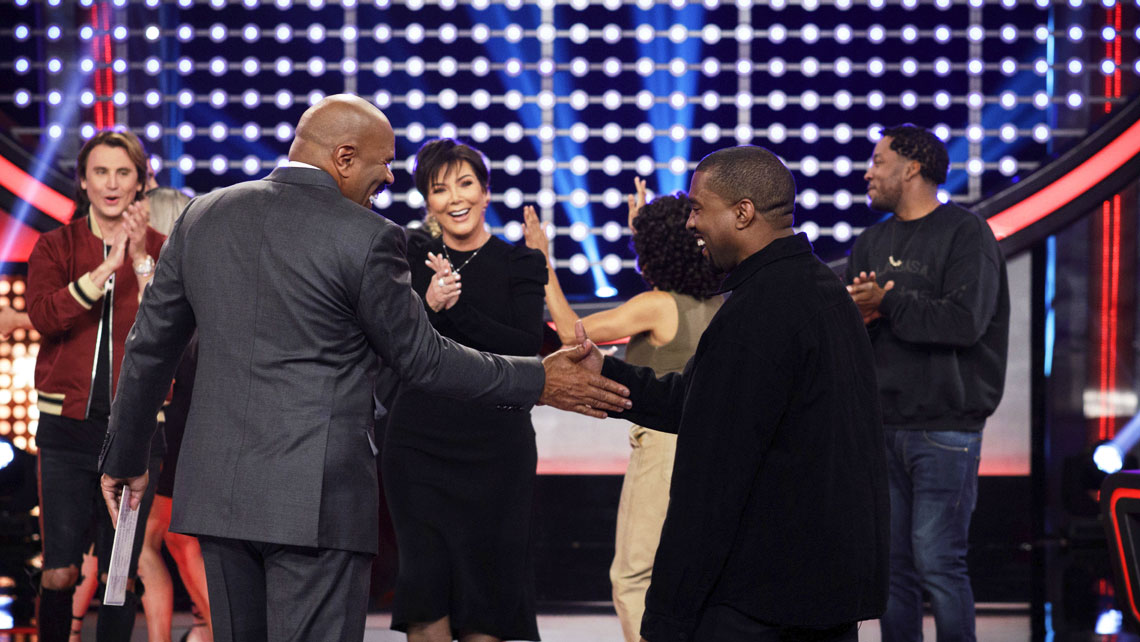 Kanye West on Celebrity Family Feud