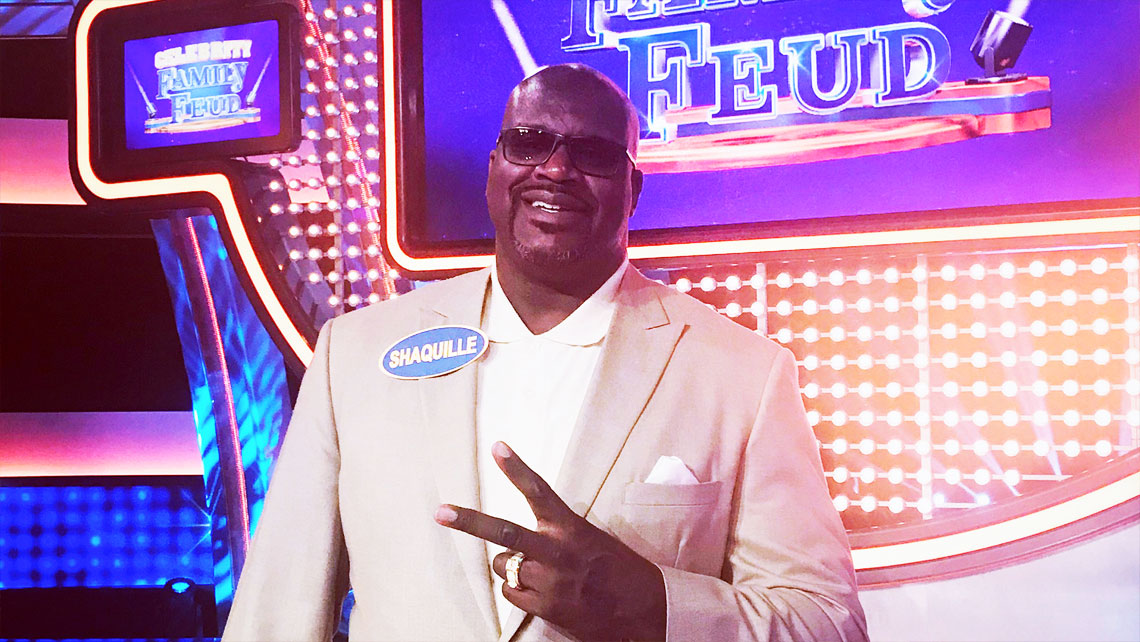 Shaq on Celebrity Family Feud