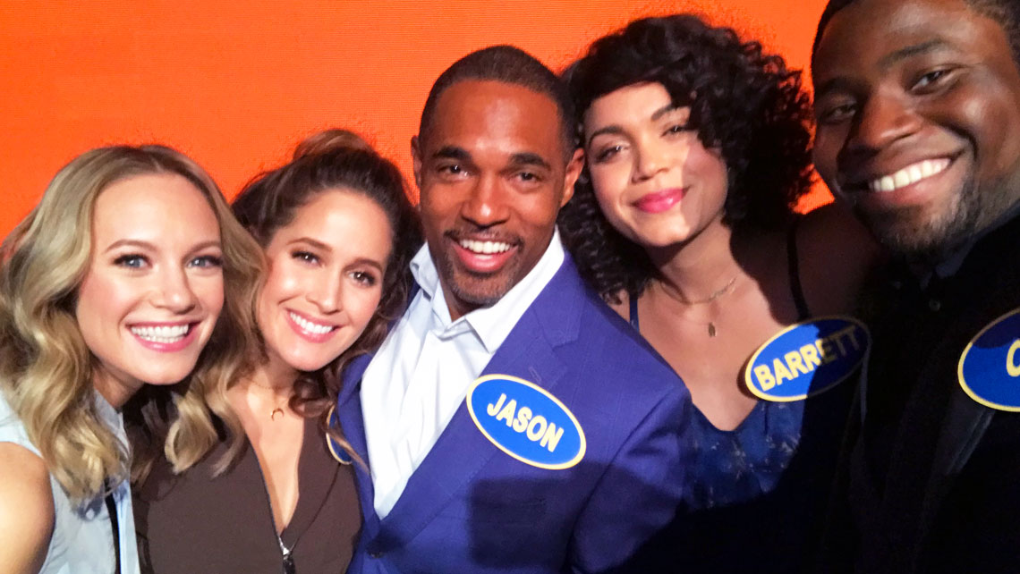 The Cast of Station 19 on Celebrity Family Feud