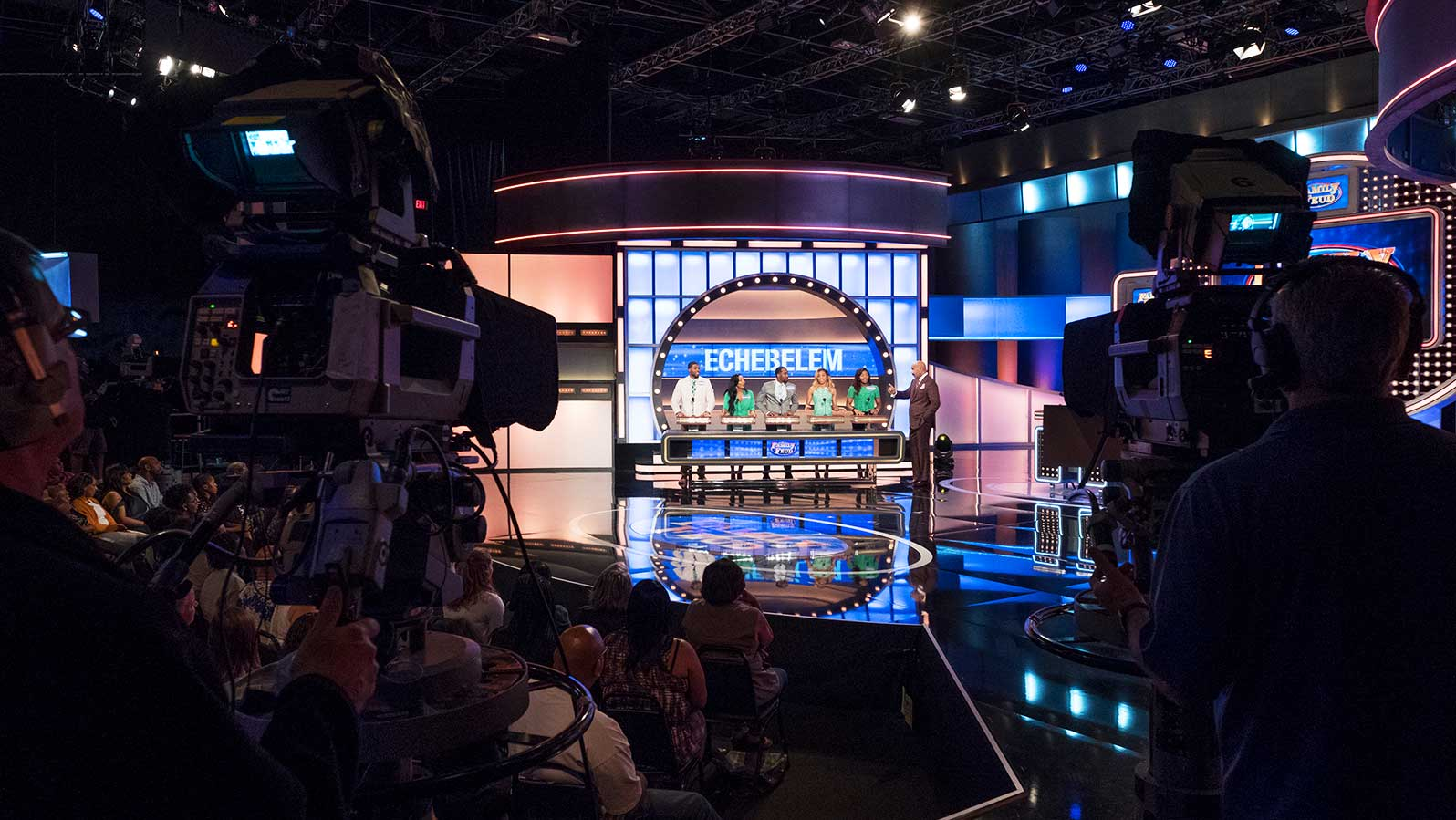 Family Feud stage