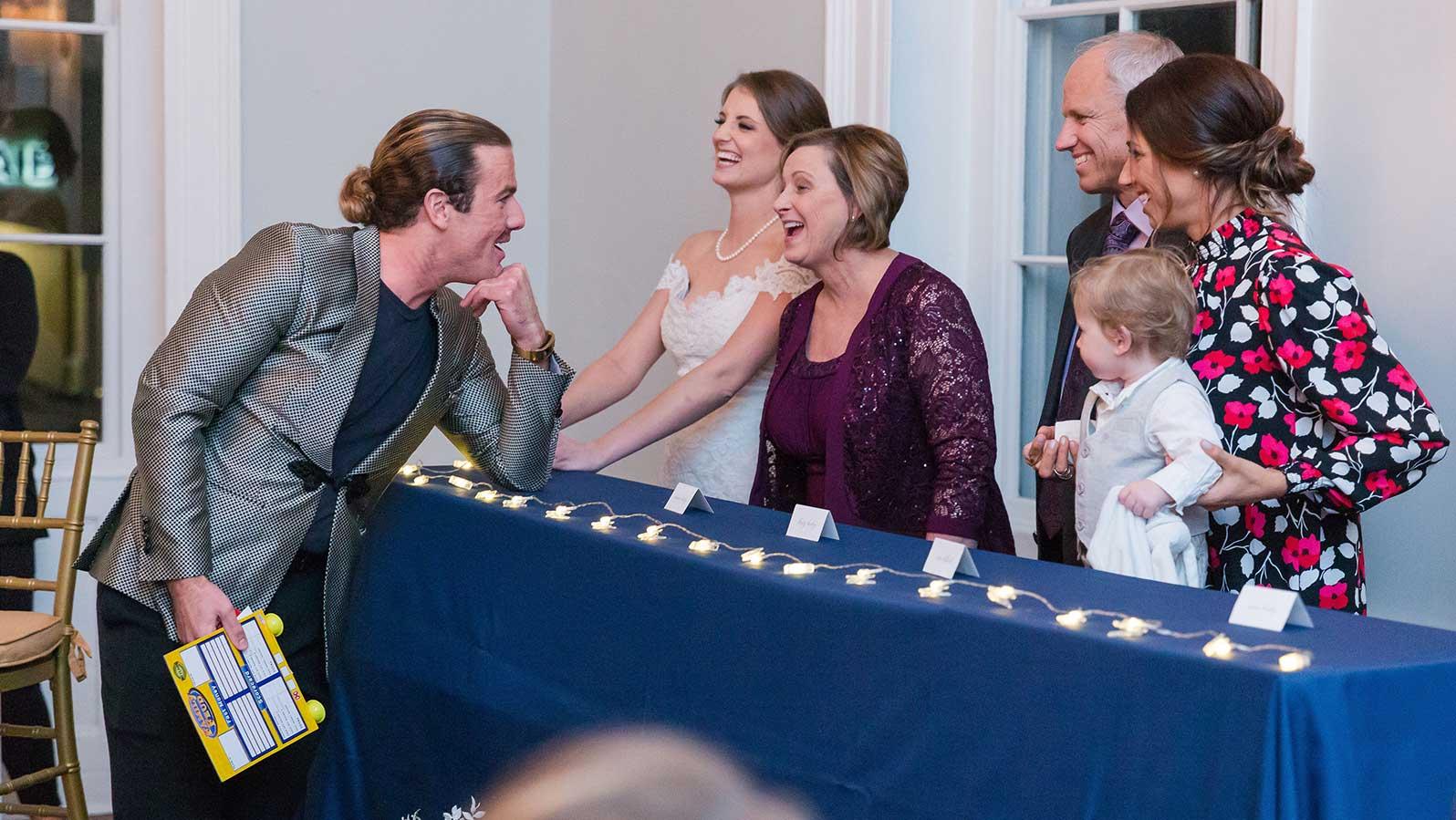 Family Feud wedding