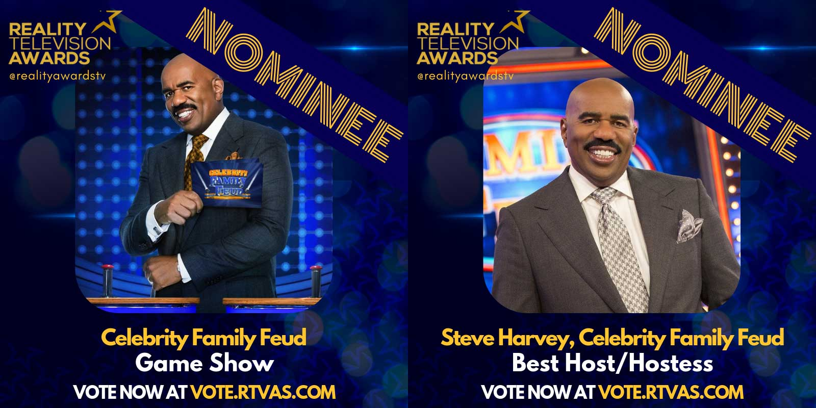Reality Television Awards Celebrity Family Feud nominations