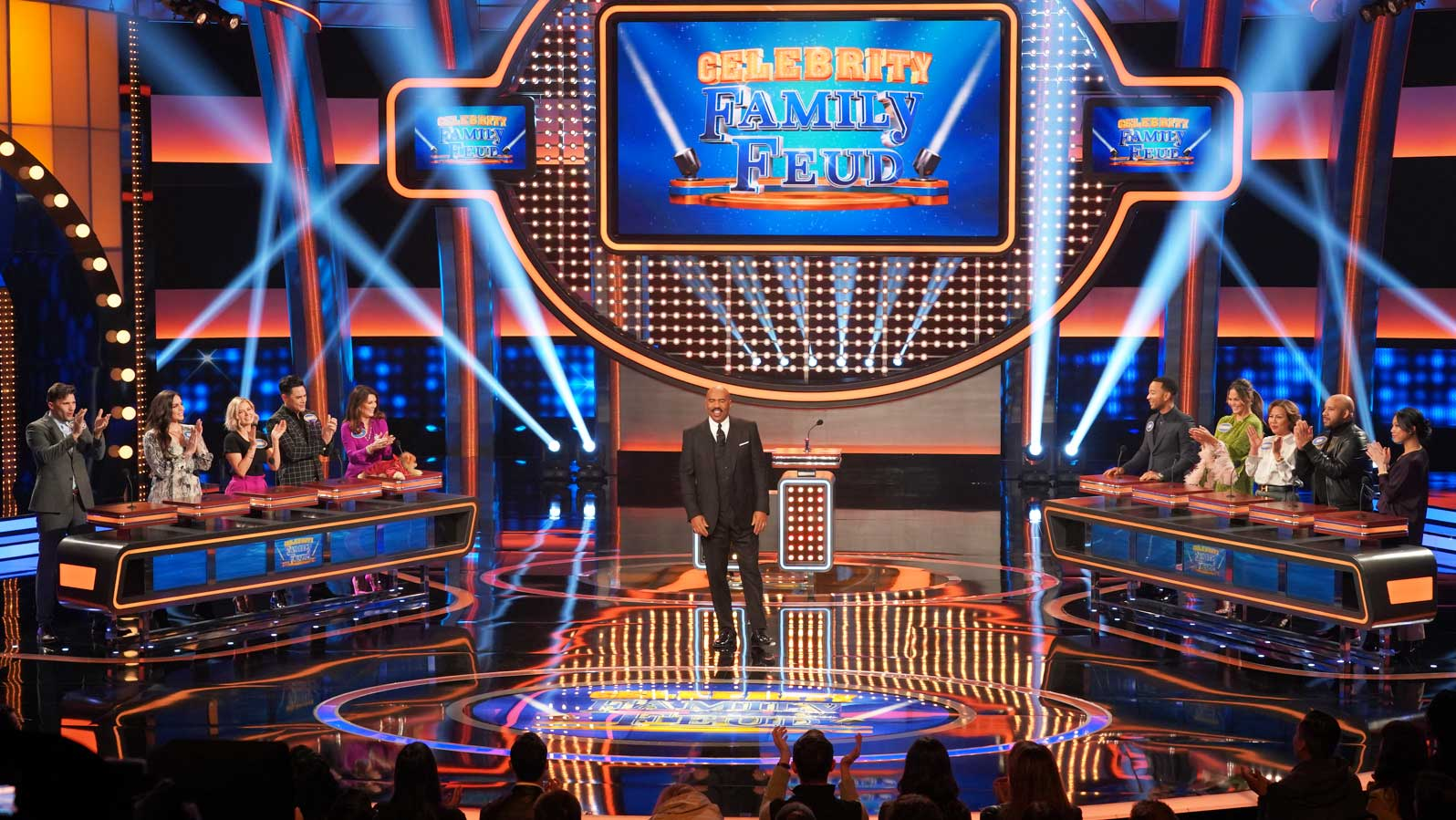 Celebrity Family Feud is back!