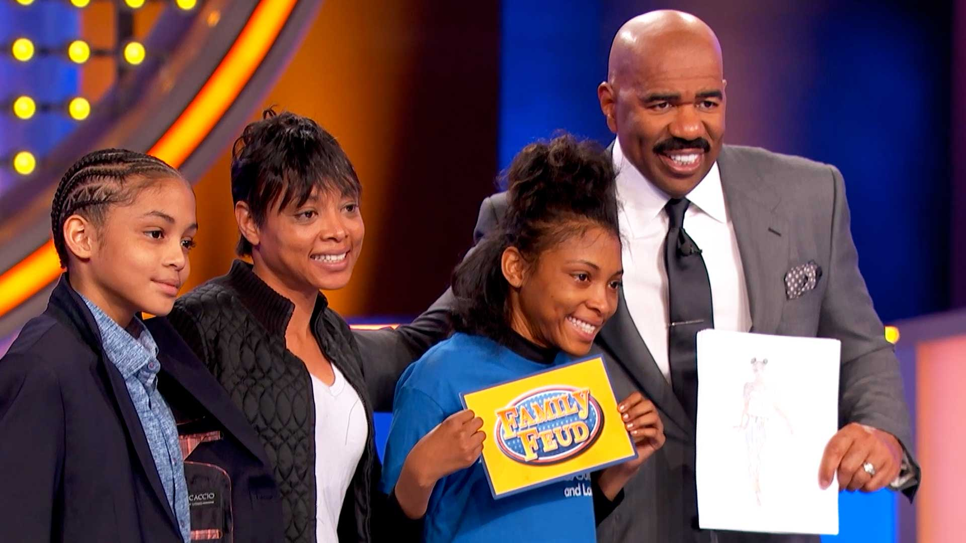 Make-A-Wish recipient India Brooks joins Feud for the day!