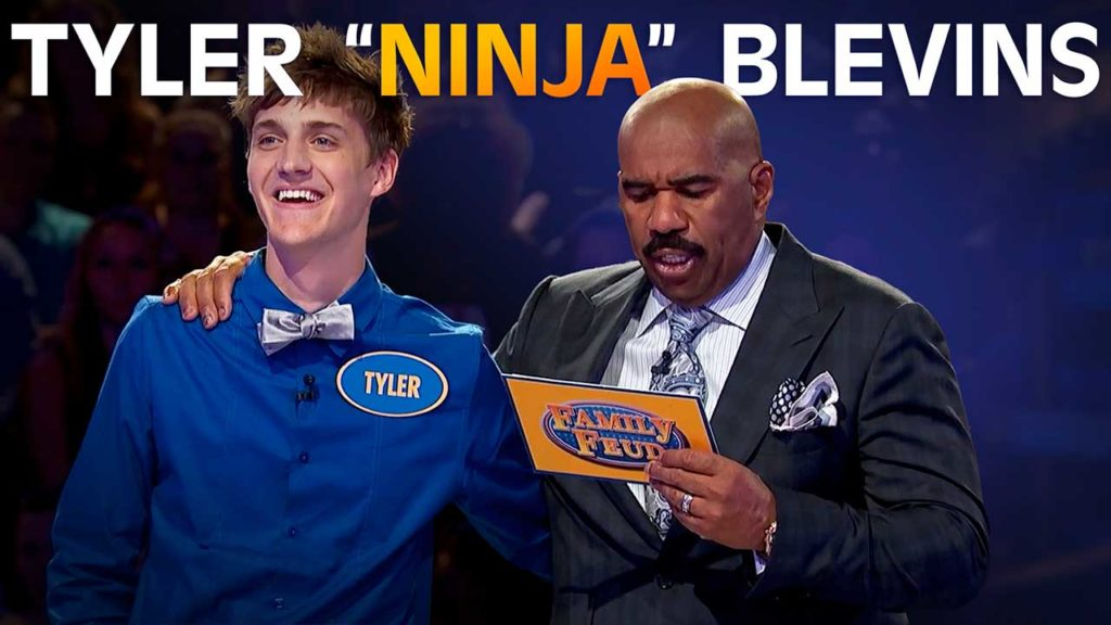 """Ninja"" on the Feud"