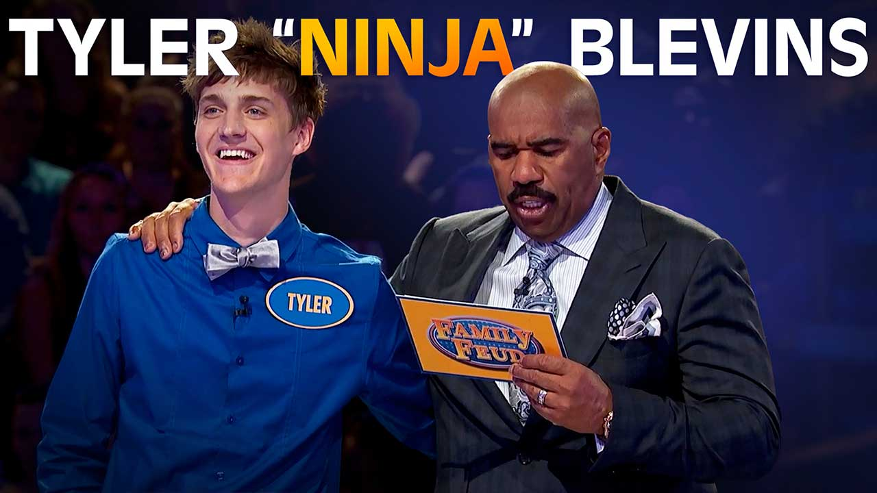 From Fortnite to Feud: America's favorite gamer competes on Celebrity Family Feud!