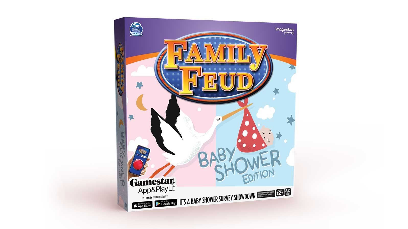 Family Feud Game Baby Shower Edition