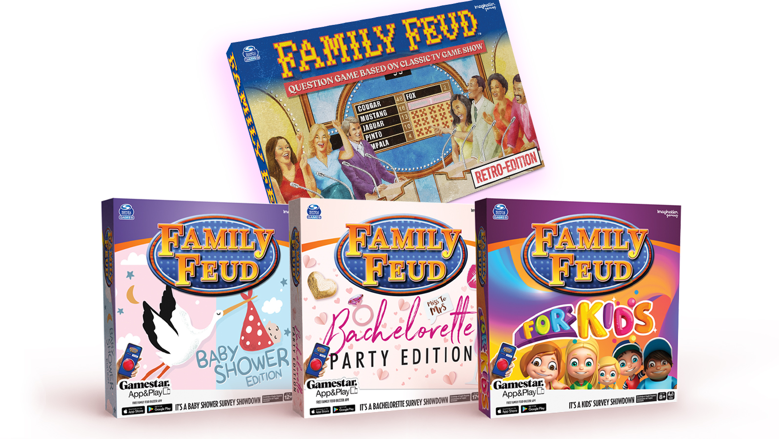 There really is a Family Feud for everyone this holiday season!